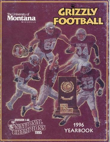 c22e1c69d83 1996 Football Media Guide by University of Montana Athletics - issuu
