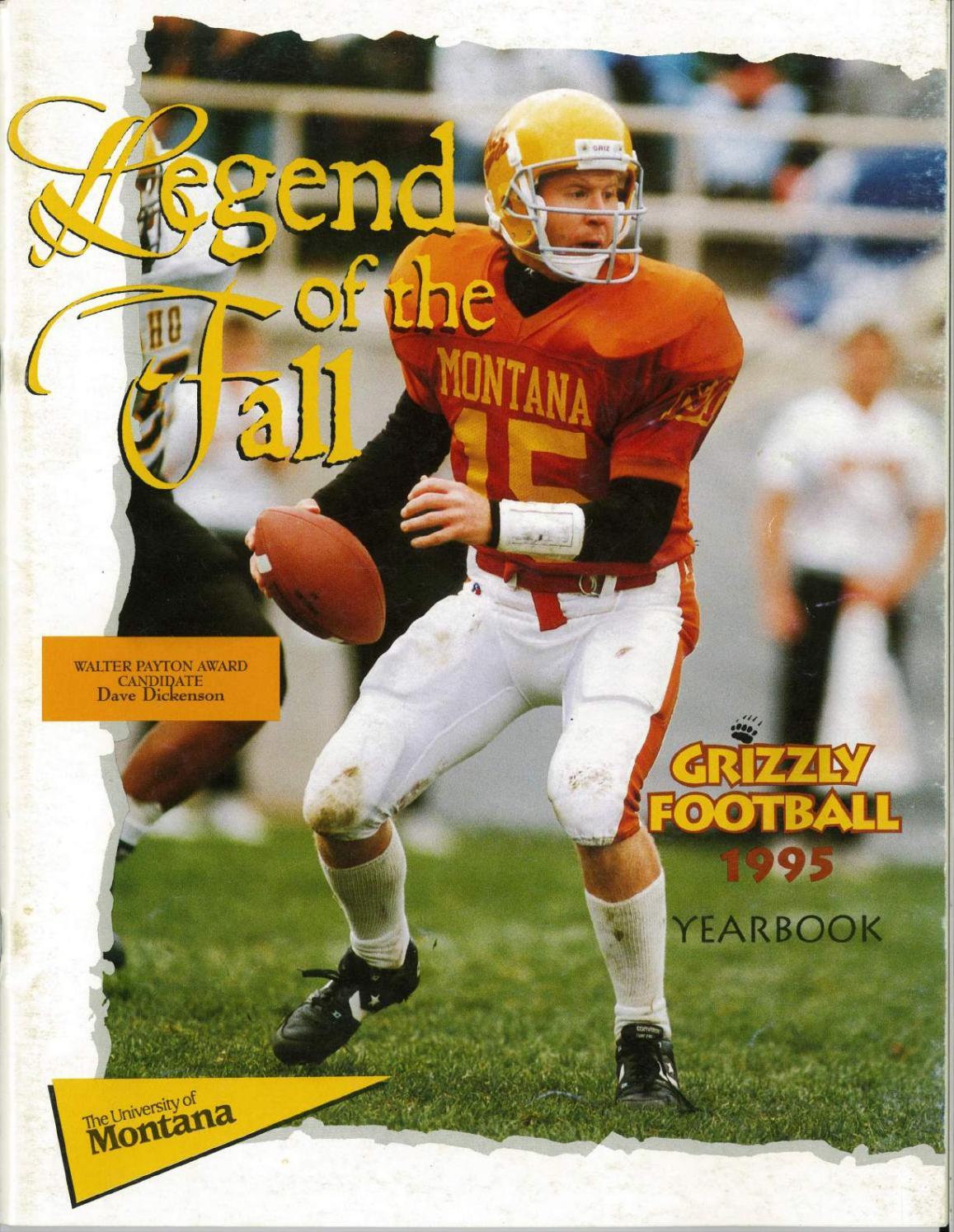 1995 Football Media Guide By University Of Montana Athletics Issuu