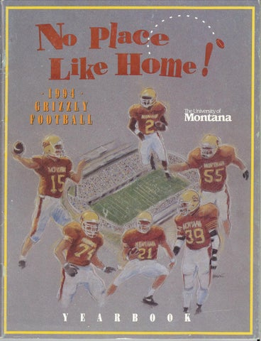 96be3f3eb7d 1994 Football Media Guide by University of Montana Athletics - issuu