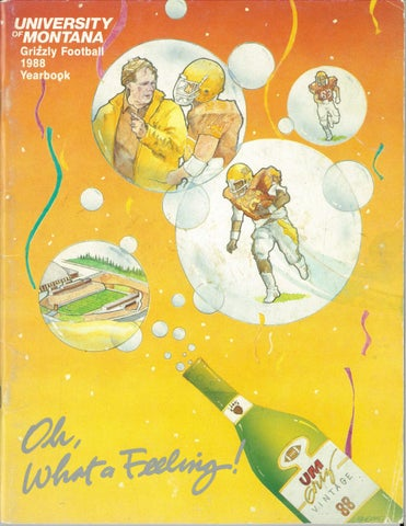 1988 Football Media Guide by University of Montana Athletics - issuu