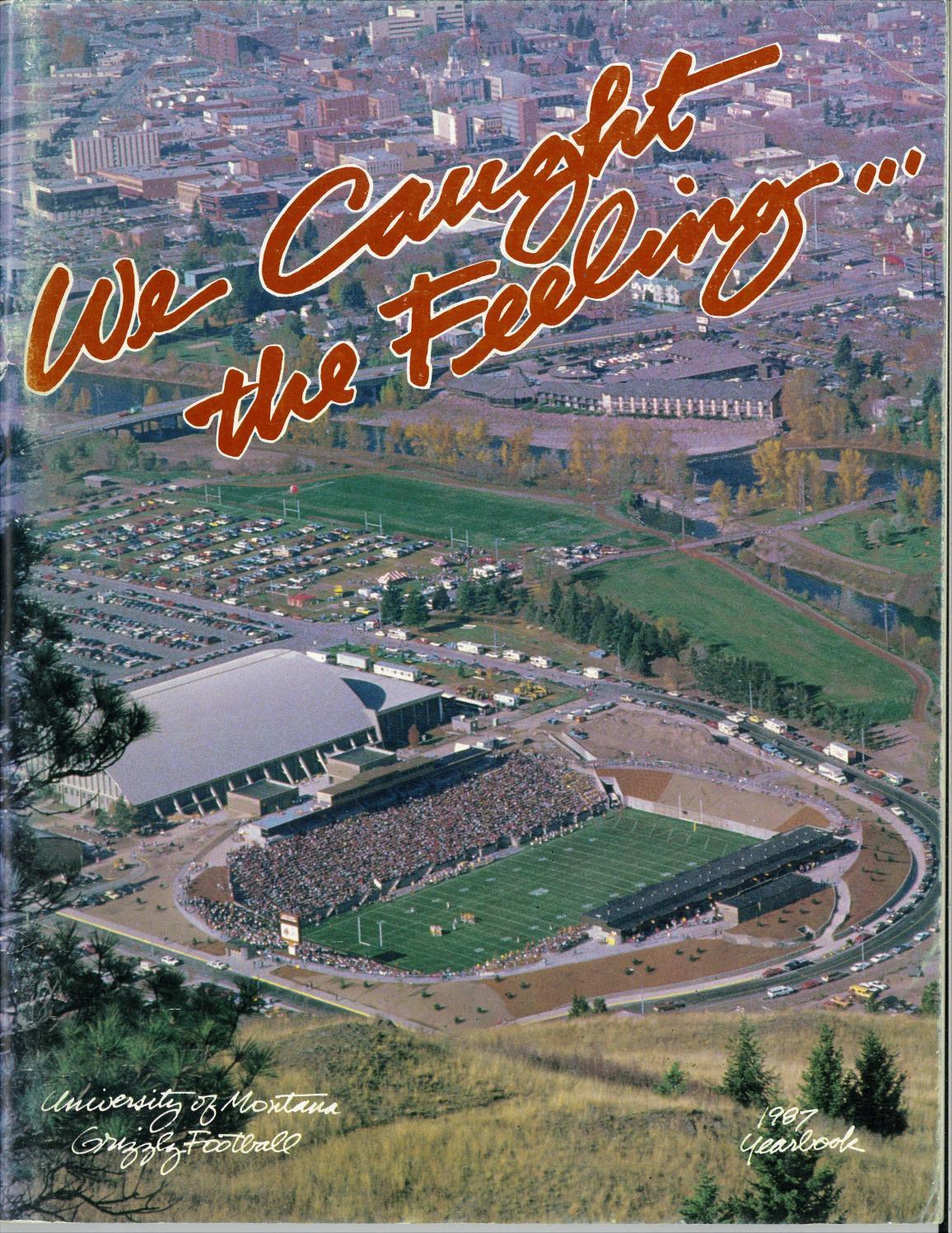1987 Football Media Guide by University of Montana Athletics