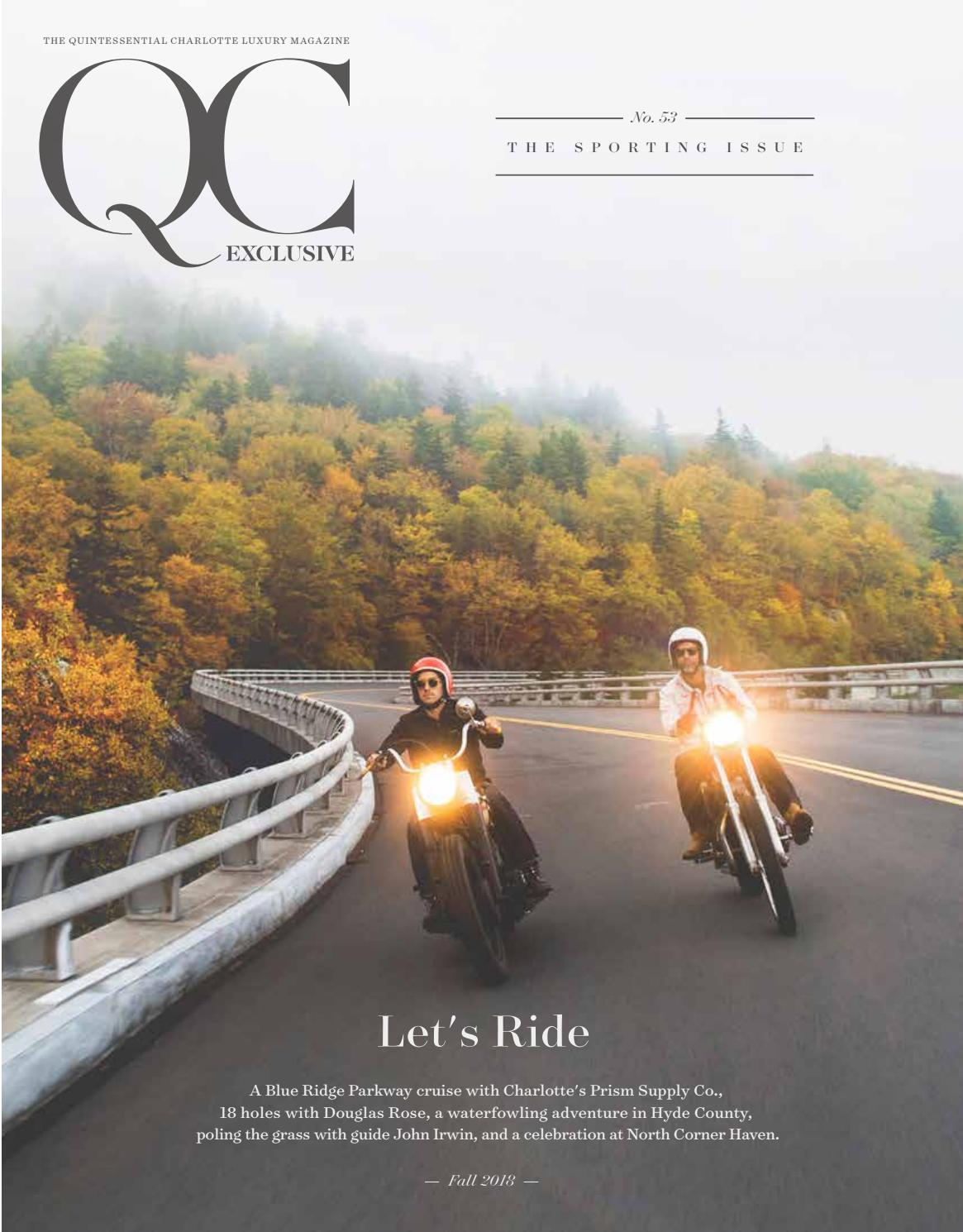 Qc Exclusive No 53 2018 Issue 8 The Sporting Issue By Qc Exclusive Magazine Issuu