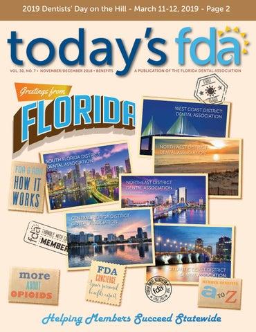 f379068f5c5be 2018 - Nov/Dec TFDA by Florida Dental Association - issuu
