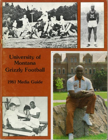 1981 Football Media Guide By University Of Montana Athletics Issuu