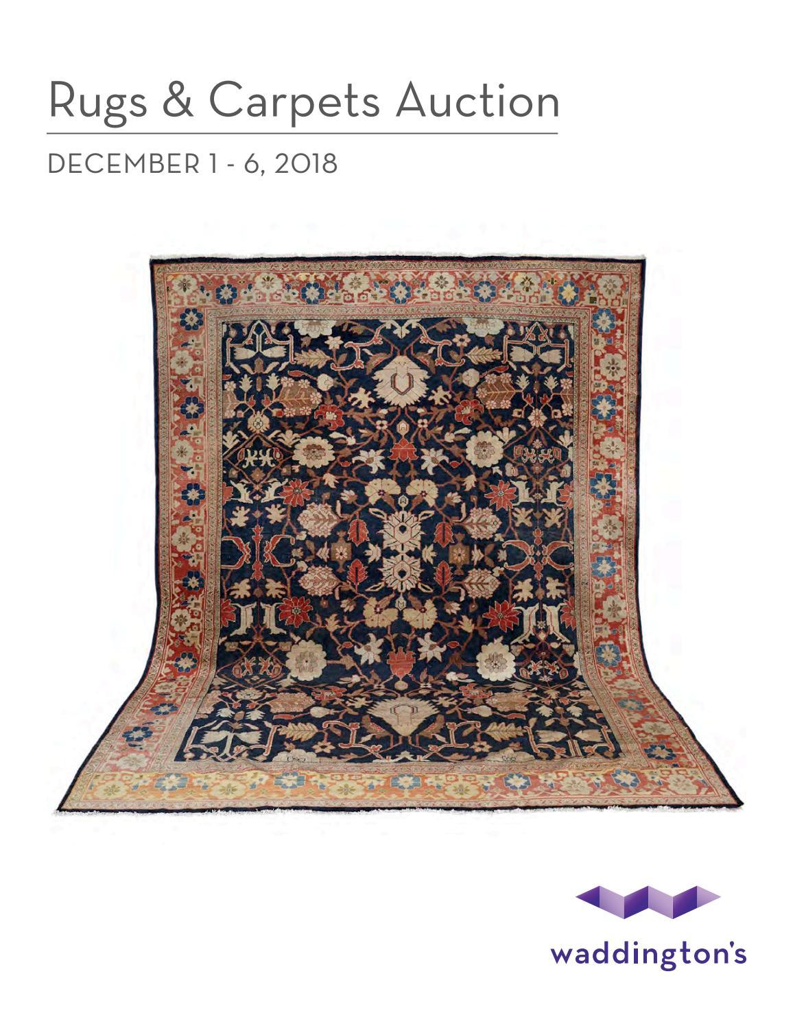 Rugs Carpets Online Auction Dec 1