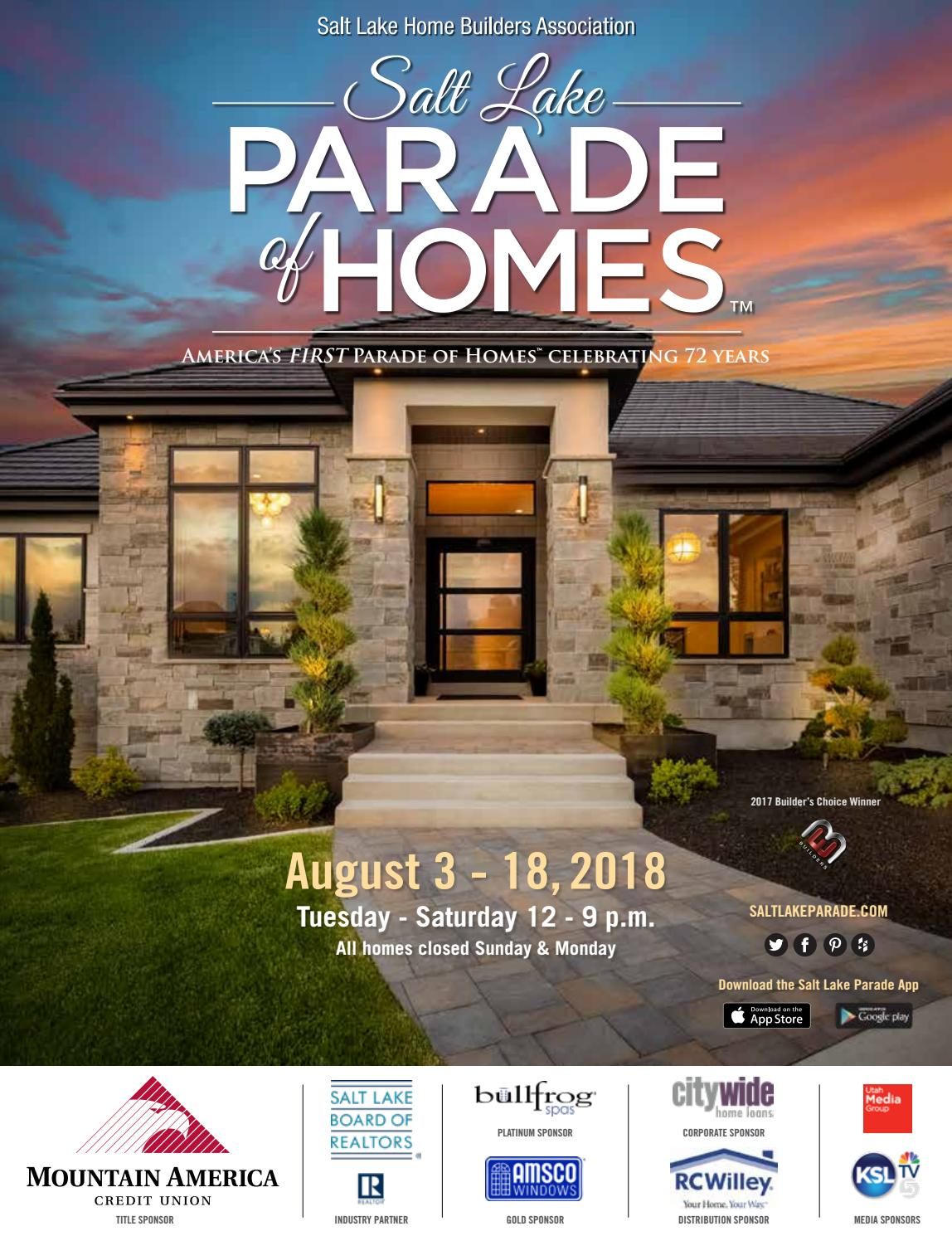 2018 Salt Lake Parade of Homes by Utah Media Group - issuu