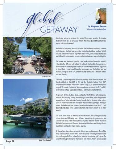 Page 22 of Global Getaways - Barbados