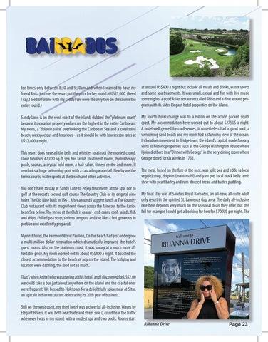 Page 23 of Global Getaways - Barbados