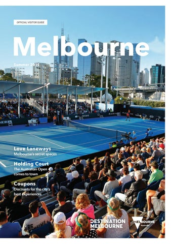Melbourne Official Visitors Guide - Summer 2018/19 by