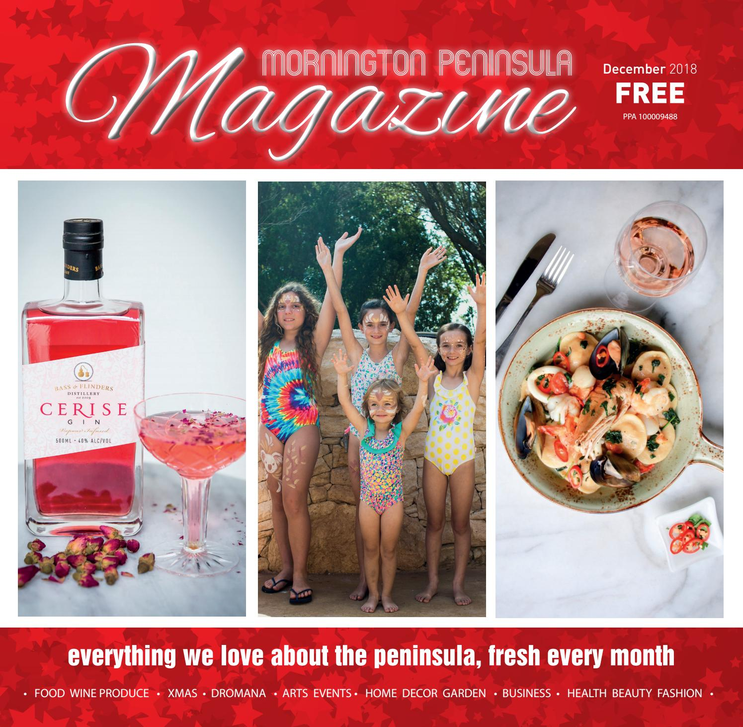 mornington peninsula magazine december 2018 by mornington peninsula rh issuu com
