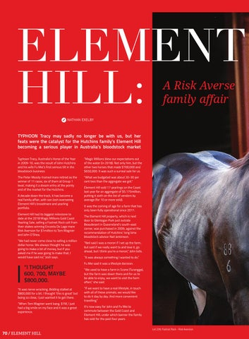 Page 72 of Element Hill: A Risk Averse family affair