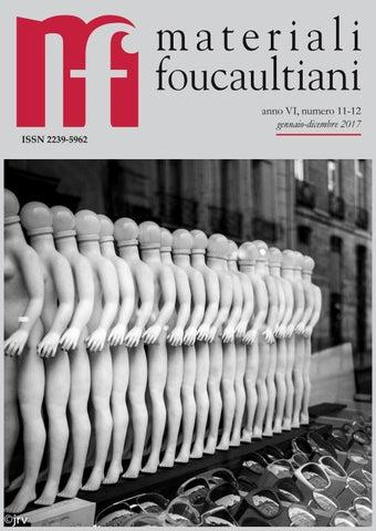 3793a70e9c6 Materiali foucaultiani VI