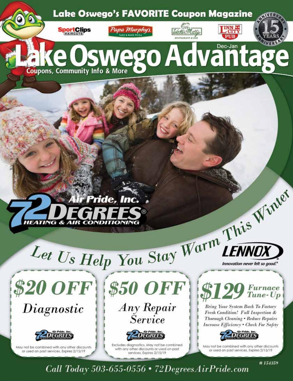 LAKE OSWEGO - Advantage Guide - Dec 2018 by Active Media