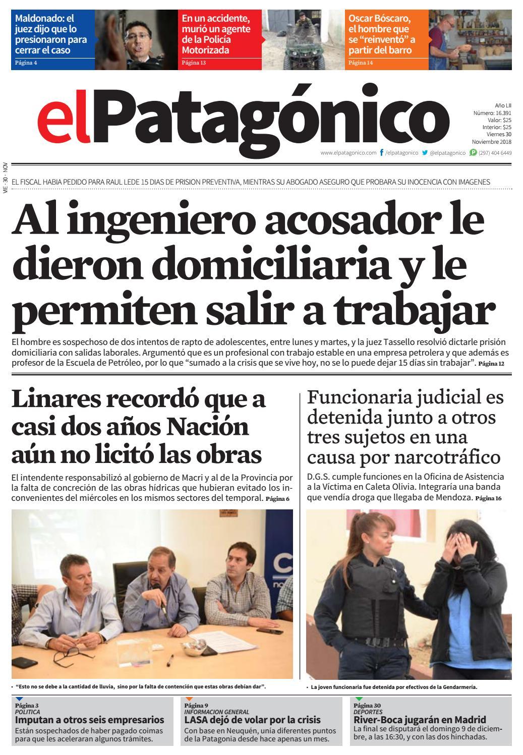 edicion215729112018.pdf by El Patagonico - issuu 4d89683789e6a