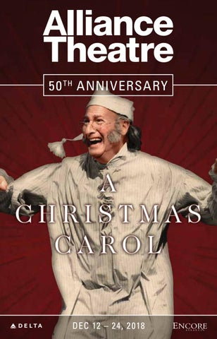 Alliance Theatre A Christmas Carol December 2018 By Encore