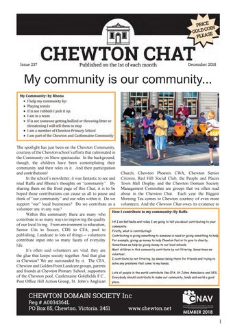 1c1402bbb9 Chewton Chat February 2019 by Chewton Chat - issuu
