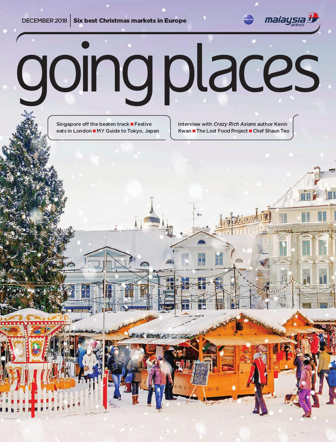 Going Places December 2018 by Spafax Malaysia - issuu