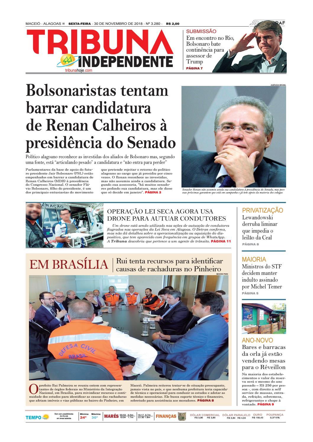 d2fae62af1 Edição número 3280 - 30 de novembro de 2018 by Tribuna Hoje - issuu