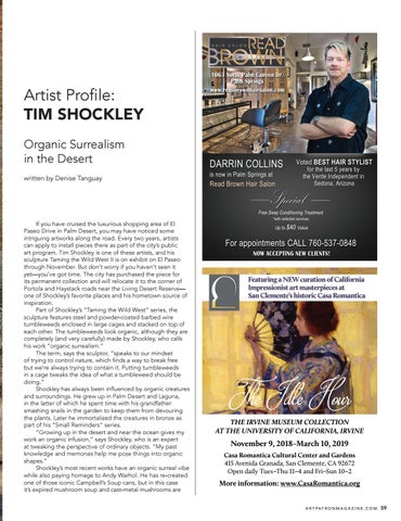 Page 59 of Artist Profile: Tim Shockley