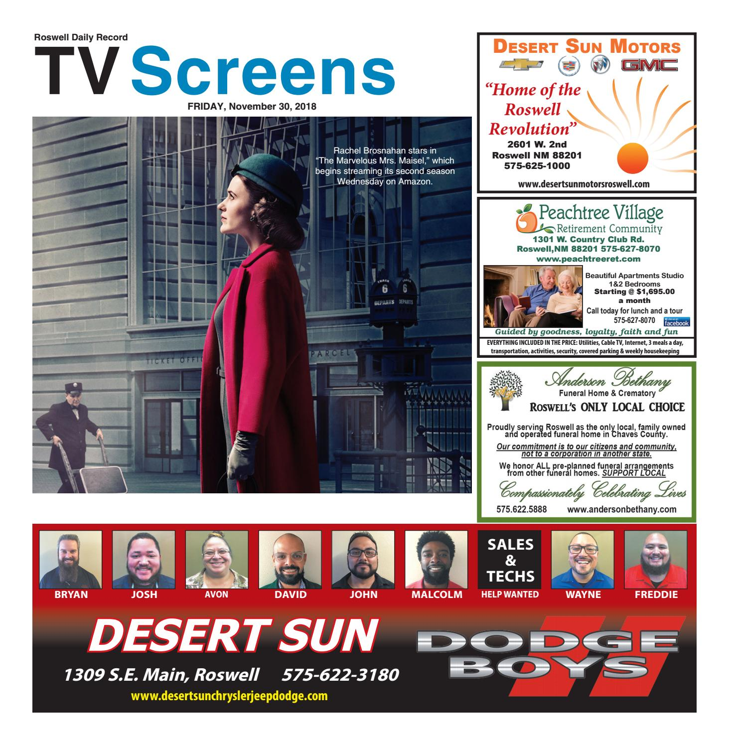 41a343c4 Screens 11 30 18 by Roswell Daily Record - issuu