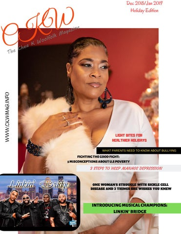 Ckw The Chea K Woolfolk Magazine Dec 2018jan 2019 Holiday Edition