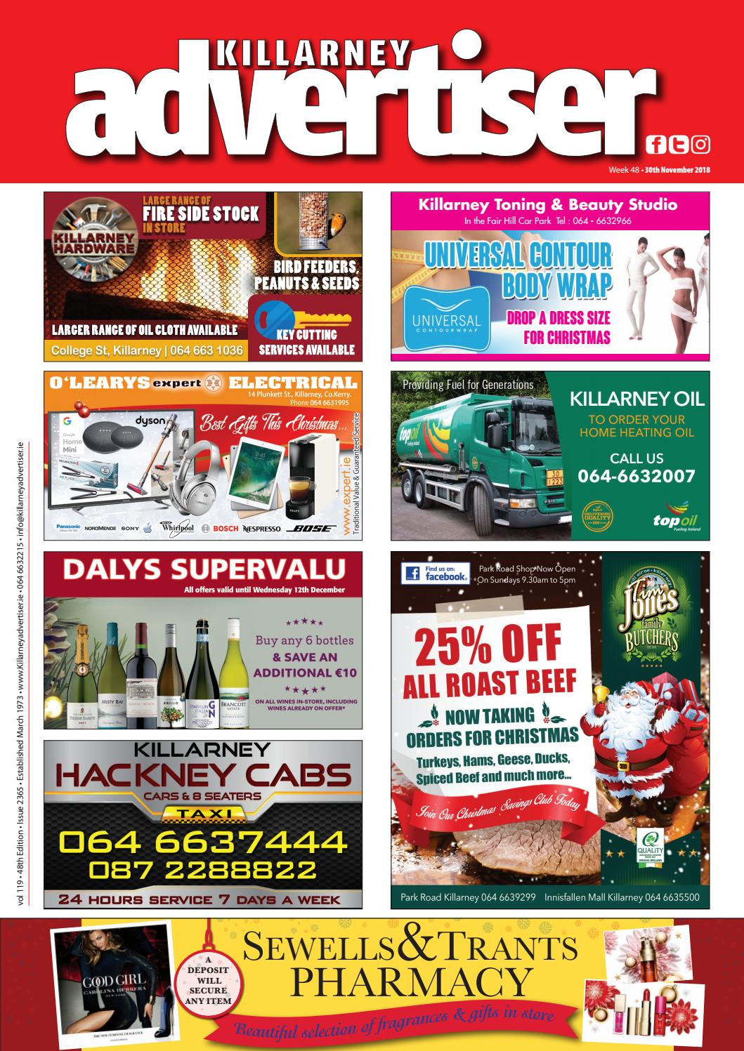 Killarney Advertiser 12th April 2019 by Killarney Advertiser