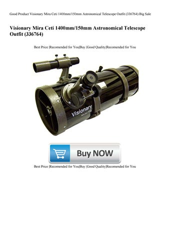 Good Product Visionary Mira Ceti 1400mm150mm Astronomical