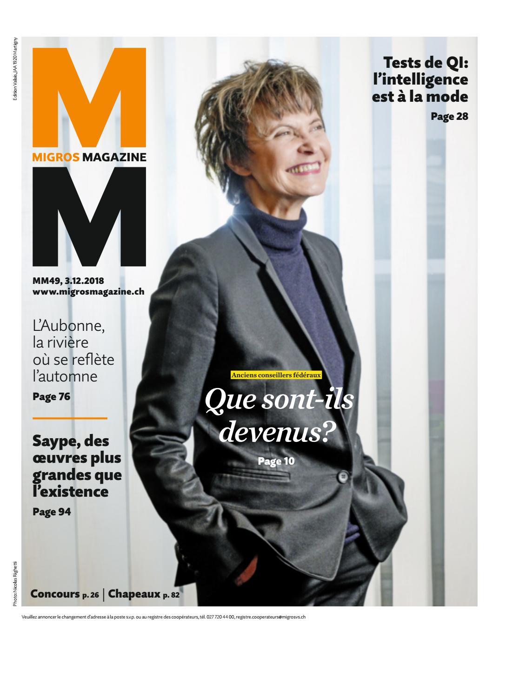 Migros-Magazin-49-2018-f-VS by Migros-Genossenschafts-Bund - issuu d308ae4f438