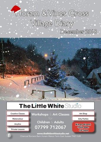 Horam & Vines Cross Village Diary December by