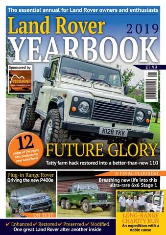 700d170afce Land Rover Yearbook 2019 by Assignment Media Ltd - issuu