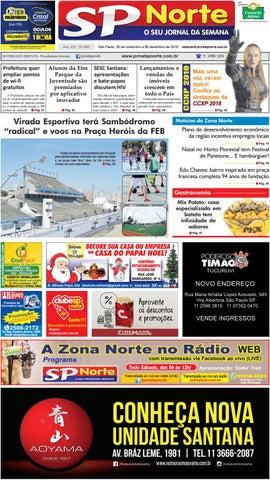 Edição 840 - 30 de Novembro a 6 de Dezembro de 2018 by Jornal SP ... 6c8af2bed159c