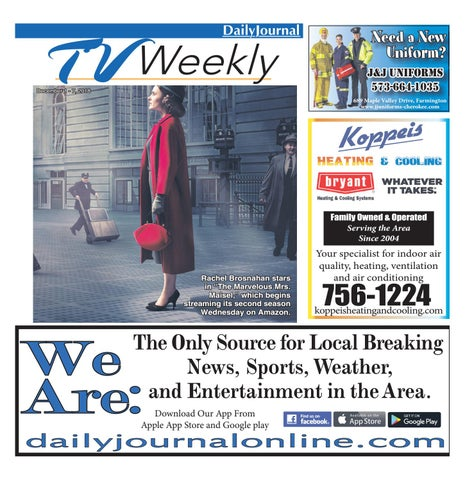 57142078a TVWeekly-December_1-7_2018 by Daily Journal Online - issuu