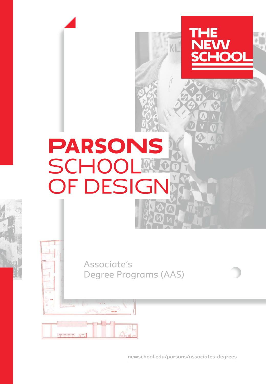 2018 Parsons AAS Viewbook by The New School - issuu