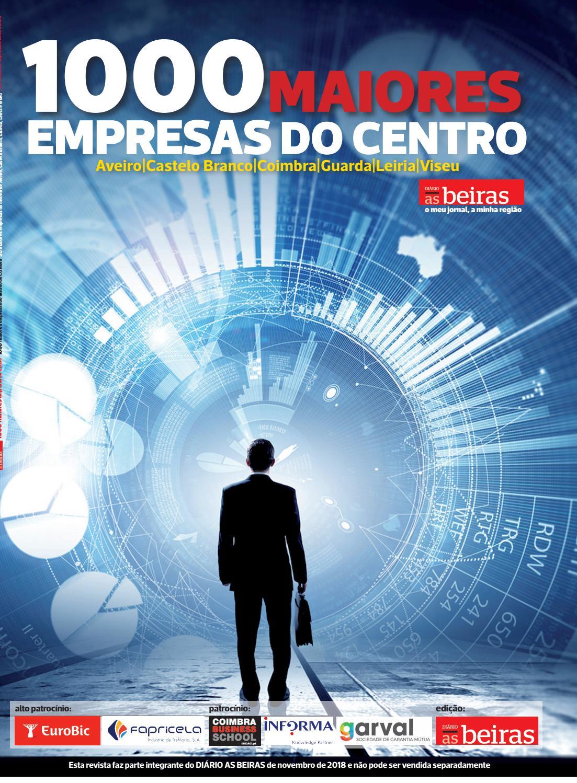 Revista 1000 Maiores Empresas Da Região Centro 2018 By Diário As Beiras Issuu