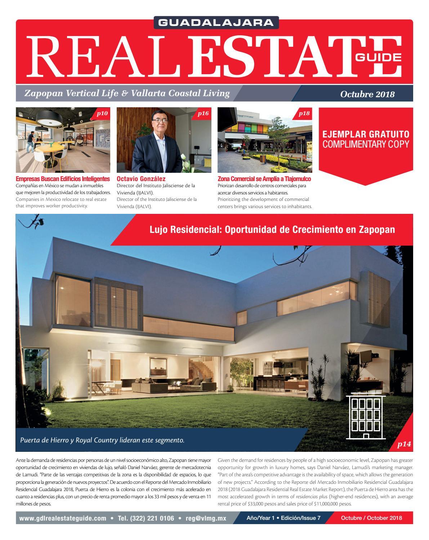 Guadalajara Real Estate Guide Octubre 2018 By Vallarta