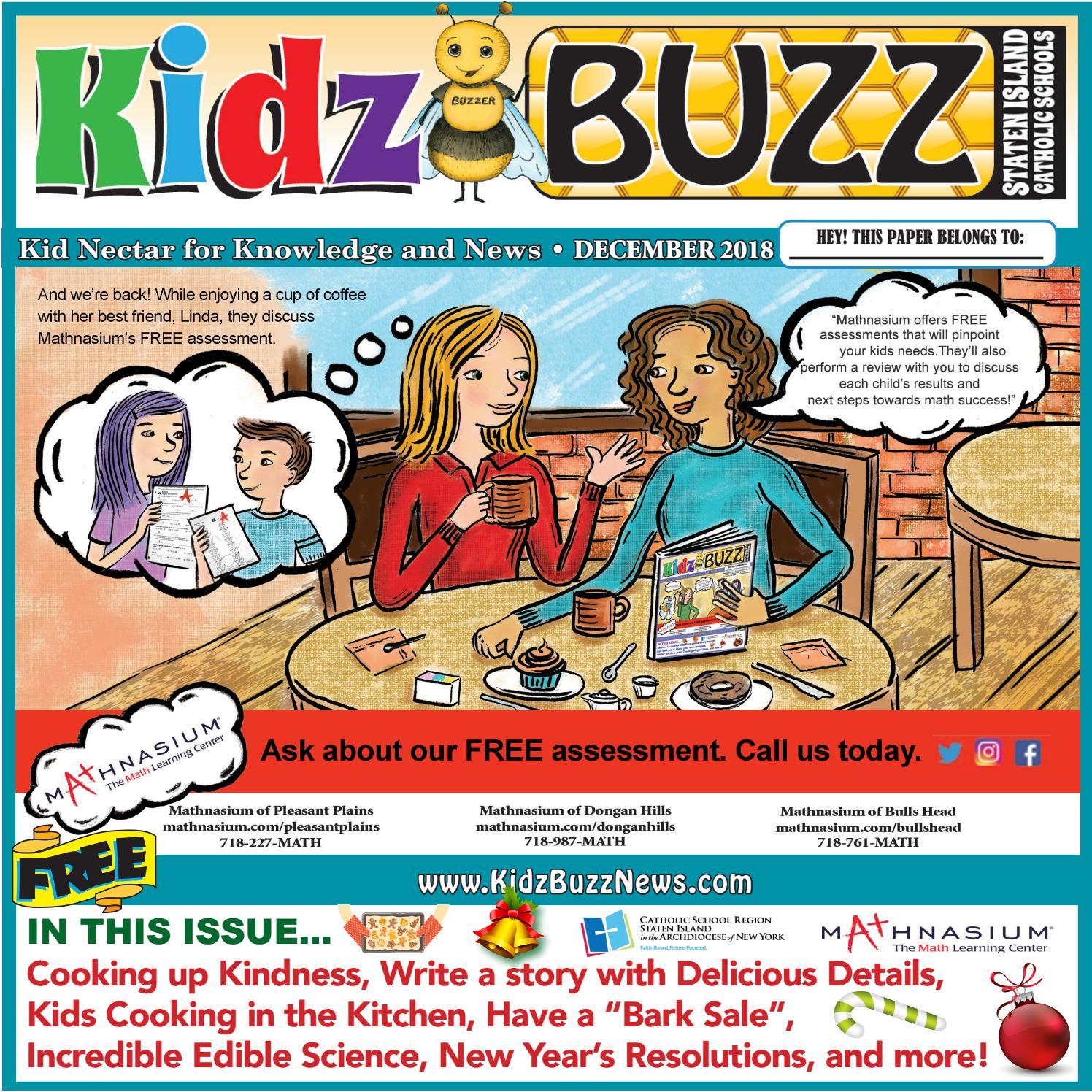 Kidz Buzz Dec 2018, Staten Island by Belsito Communications Inc  - issuu