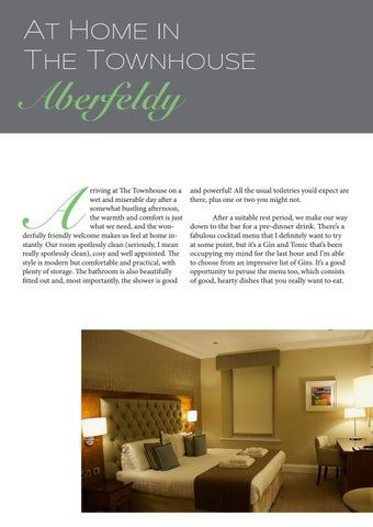 Page 4 of At Home in The Townhouse, Aberfeldy