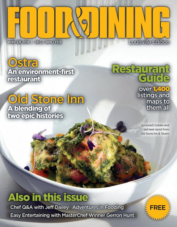 Winter 2018 Vol 62 By Food Dining Magazine Issuu