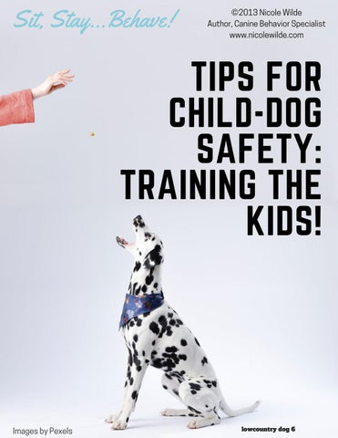 Page 6 of Tips for Child-Dog Safety