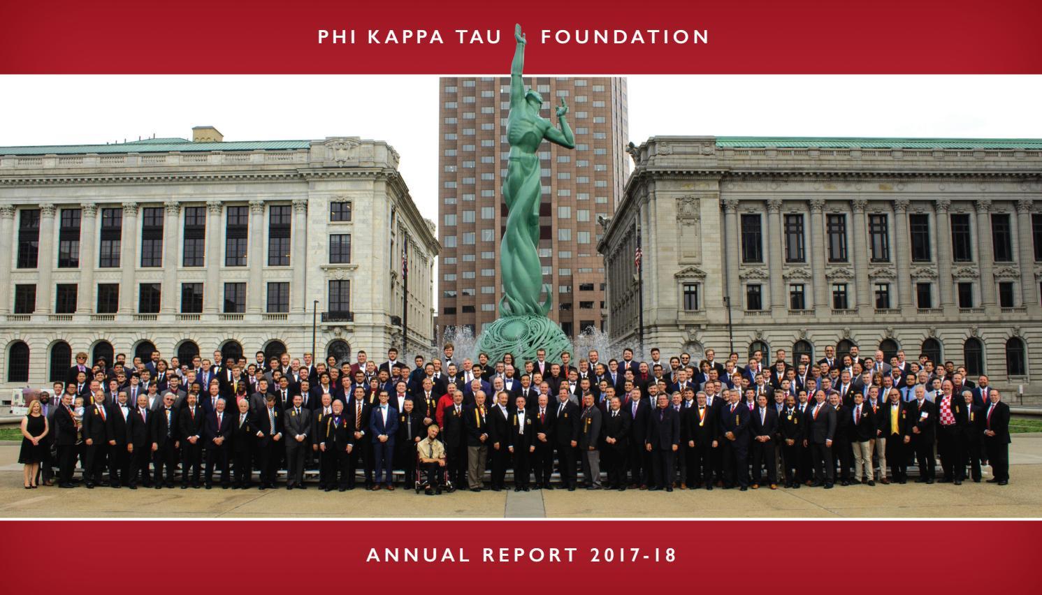 najlepsza strona internetowa jak kupić szczegółowe obrazy Annual Report 2018 by Phi Kappa Tau - issuu
