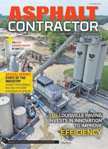 Asphalt Contractor December 2018 by ForConstructionPros com