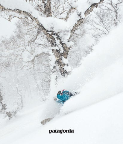 03b47491e2aeb Patagonia November Journal 2018 by Patagonia - The Cleanest Line - issuu