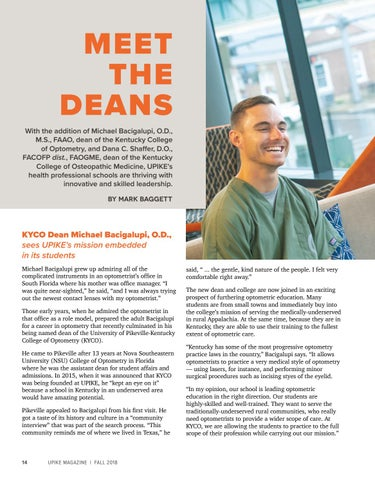 Page 16 of Meet the Deans