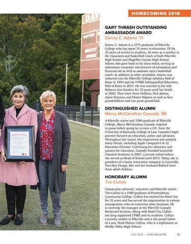 Page 23 of Alumni Awards