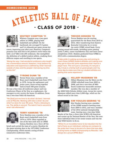 Page 24 of Athletics Hall of Fame