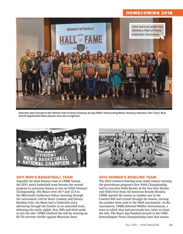 Page 25 of Athletics Hall of Fame