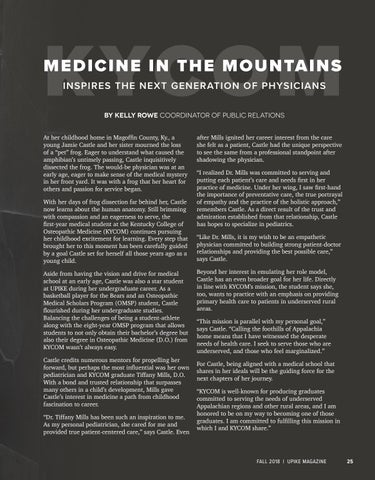 Page 27 of Medicine in the Mountains Inspires the Next Generation of Physicians