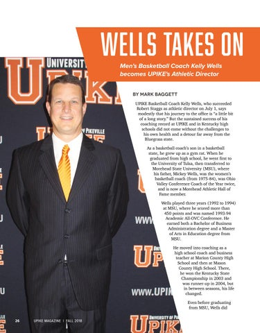 Page 28 of Wells Takes on New Role