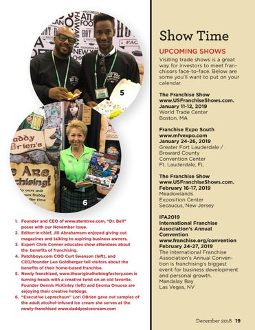 Page 19 of Tradeshow Happenings