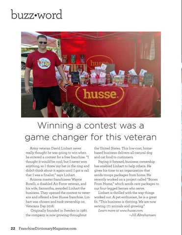 Page 22 of Winning a contest was a game changer for this veteran